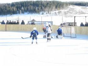 Открытие хоккейной коробки.