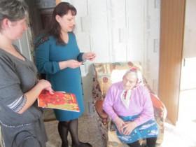 Старейшая  жительница села отметила 95 летний юбилей.