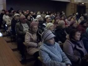 22 марта 2019 г. в здании «Краснознаменского СДК» состоялось собрание жителей села Знаменка, на котором присутствовало 116 жителей села.